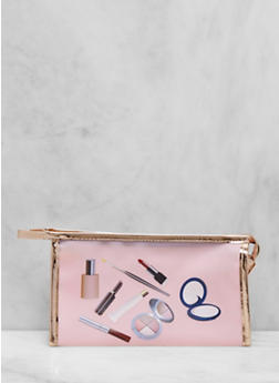 Graphic Cosmetic Pouch - 1163056178147