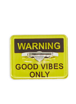 Good Vibes Only Phone Ring Stand - 1163066419954