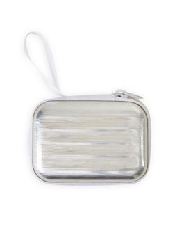 Silver Zip Card Wallet - 1163067440001