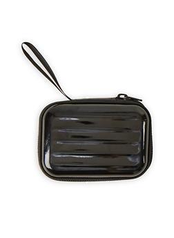 Black Zip Card Wallet - 1163067440002