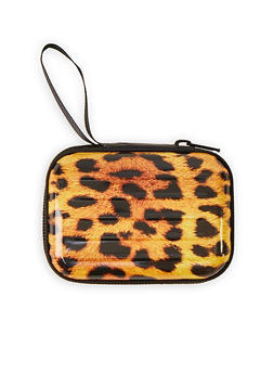 Leopard Zip Card Wallet - 1163067440004