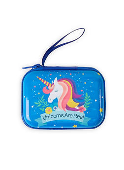 Unicorns Are Real Zip Card Wallet - 1163067440010