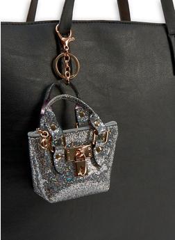 Mini Glitter Purse Keychain - 1163067444009