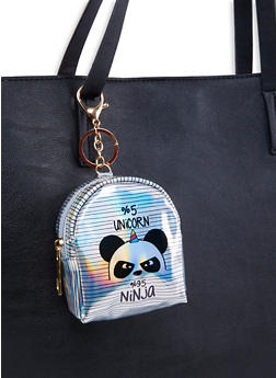 Panda Backpack Keychain - 1163067445502