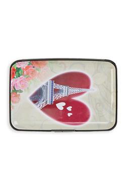Paris Heart Accordion Card Wallet - 1163067449204