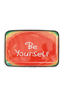 Be Yourself Accordion Card Wallet - 1163067449206