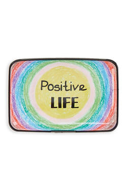 Positive Life Accordion Card Wallet - 1163067449207
