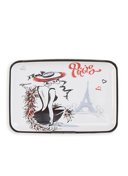 Paris Accordion Card Wallet - 1163067449211