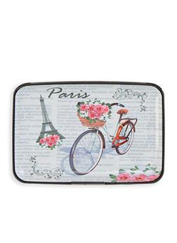 Paris Bicycle Accordion Card Wallet - 1163067449212