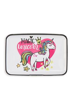 Magic Unicorn Accordion Card Wallet - 1163067449215