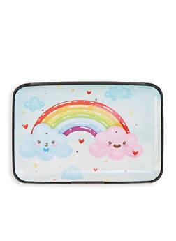 Rainbow Cloud Accordion Card Wallet - 1163067449216