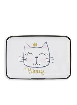 Cat Princess Accordion Card Wallet - 1163067449217