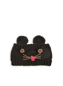 Mouse Knit Head Wrap - 1183042740070