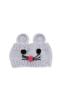 Mouse Knit Head Wrap - 1183042740070