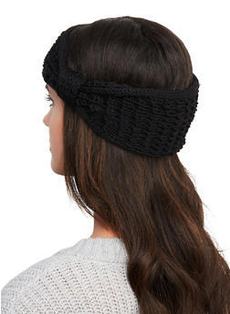 Bow Knit Head Wrap - 1183067444934