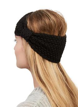 Popcorn Knit Head Wrap - 1183067444988