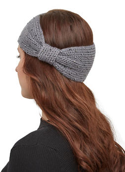 Studded Knit Headwrap - 1183071210012