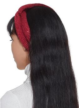 Sequin Knit Head Wrap - 1183071210018