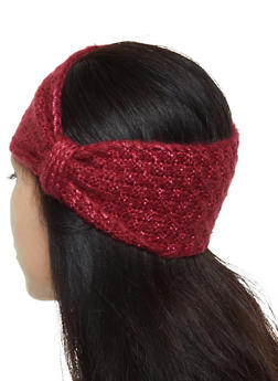 Lurex Knit Head Wrap - 1183071210057