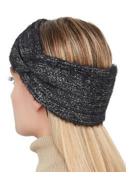 Knit Lurex Head Wrap - 1183071210063