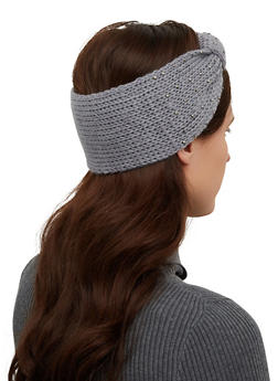 Rhinestone Embellished Knot Front Head Wrap - 1183071211200
