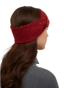Sequin Knit Head Wrap - 1183071211800