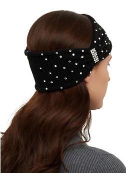 Rhinestone Studded Head Wrap - 1183071212200