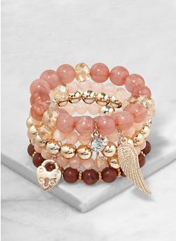 Beaded Stretch Bracelets - 1193035158555