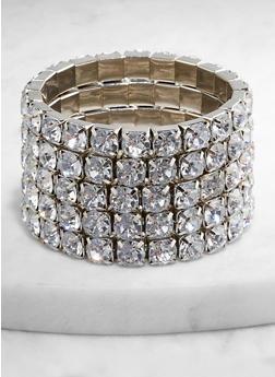 Stretch Rhinestone Bracelets - 1193062921485