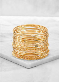 Twisted Bangles Set of 20 - 1194062812826