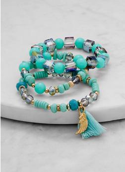 Tassel Bead Bracelets - 1194071210099