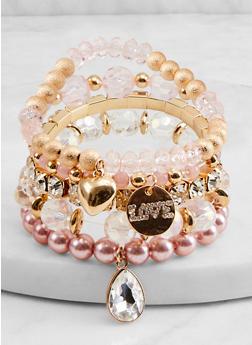 Multi Bead Stretch Bracelets - 1194072694451