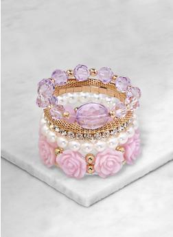 Beaded Stretch Bracelets - 1194073843411