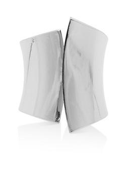 Metallic Hinge Cuff Bracelet - 1194074171917