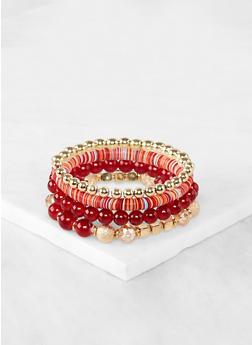 Mixed Bead Stretch Bracelets - 1194074751501