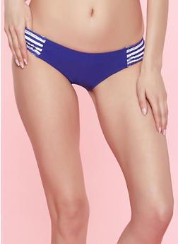 Womens Blue Swimwear
