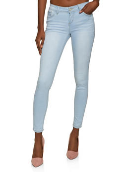 WAX One Button Push Up Jeans - 1288071615400