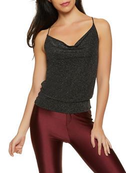 Shimmer Knit Cami - 1301015990365