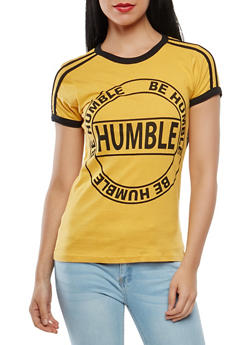 Humble Graphic Ringer Tee - 1302033872663