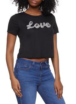 Love Druzy Graphic Tee - 1302058751714