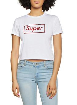 Super Foil Graphic Tee - 1302058752346