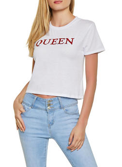 Queen Foil Graphic Tee - 1302058752347