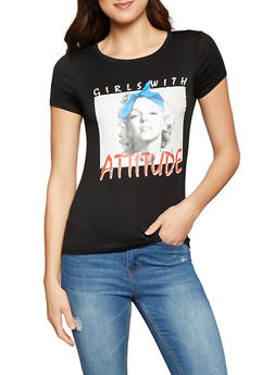 Girls with Attitude Graphic Tee - 1302074292848