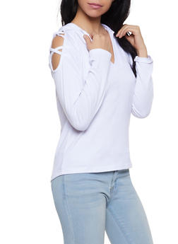 Caged Hooded Sweatshirt - 1304038343314