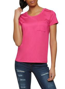 Spandex Short Sleeve Top - 1305058753484