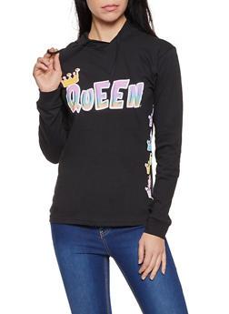 Queen Hooded Top - 1306033874111