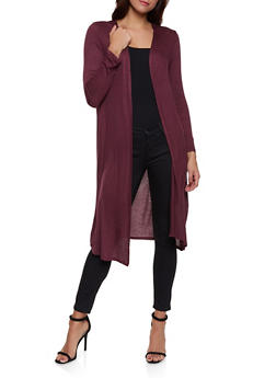 Shirred Back Duster - 1308074292444