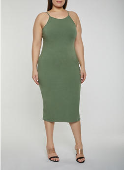 Plus Size Cami Dress - 1390015050130