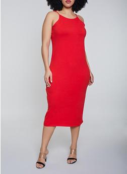 Plus Size Cami Dress - 1390015050130