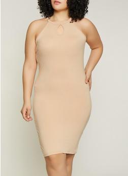 Plus Size Soft Knit Tank Dress | 1390038349821 - 1390038349821